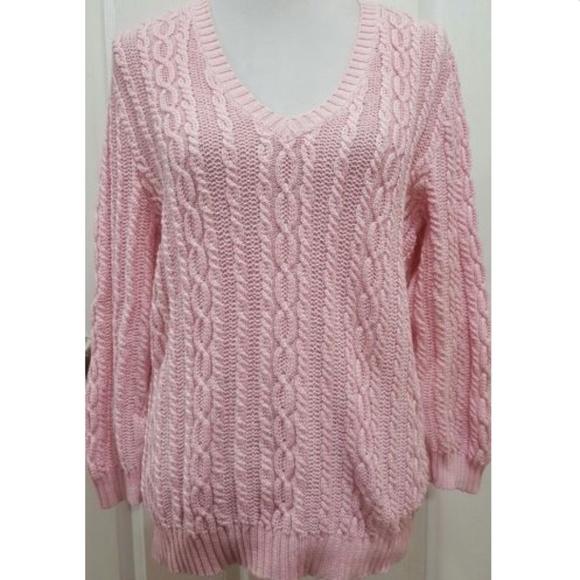 Lauren Ralph Lauren Sweaters Womens Cable Knit Sweater Xl Poshmark